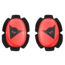 Dainese Pista Slider genoux rouge fluo-noir