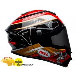 Bell casque Star MIPS Isle Of Man noir-or M