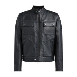 BELSTAFF SLIDER veste cuir noir L