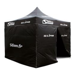 Tente Publicitaire Sifam 3mx3m acier
