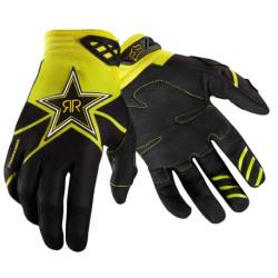 Gants Fox Rockstar noir-jaune M
