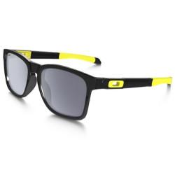 Lunettes Oakley Valentino noir branche jaune