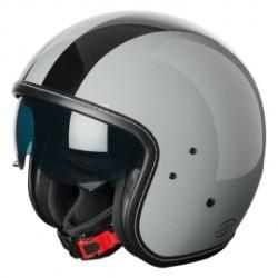 M11 casque Jet Vintage gris brillant L