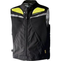 MAB Vest v2.Oc Gilet double Airbag fluo jaune 2-3XL