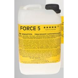 Force 5 Dégraissant 5 Litres