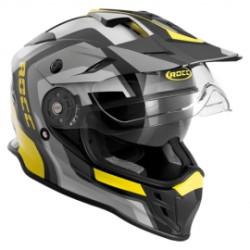M11 casque Offroad Rocc 780 noir-jaune M