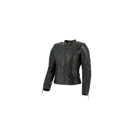 Richa veste cuir dame Lausanne noir 44