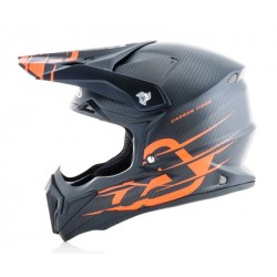 Acerbis casque cross Impact Carbon orange XXL