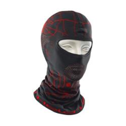 Cagoule Spyderman noir/rouge