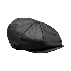 XL BELSTAFF HISLOP BAKER BOY casquette noir