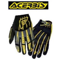 Acerbis gants Impact noir-jaune S