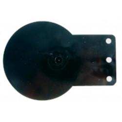 Support plastique pour disque autocollant