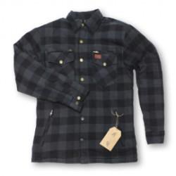 M11 PROTECTIVE chemise gris foncé-noir S