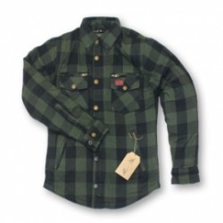 M11 PROTECTIVE chemise dame vert-noir 42