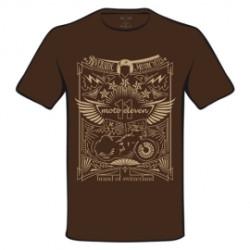 T-Shirt Moto Eleven Riverside Tattoo brun S