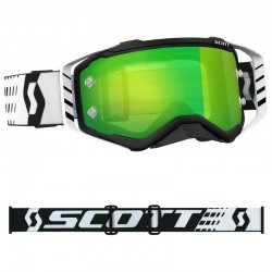 Lunettes Scott Prospect black/withe/grn chrom