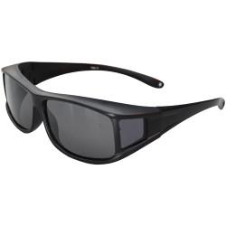 Eyerex surlunette Easy noir pour porteur de lunettes