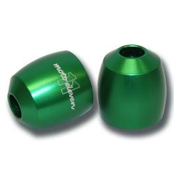 Embout de guidon M11 vert