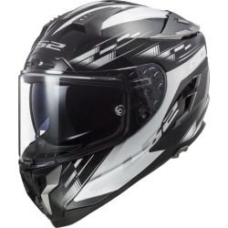 LS2 FF327 Challenger GP noir-blanc XS