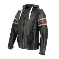Richa veste cuir Toulon rouge 50