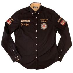 Warson chemise Jo Siffert BRM noir L