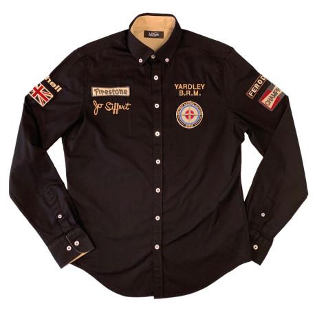 Warson chemise Jo Siffert BRM noir S