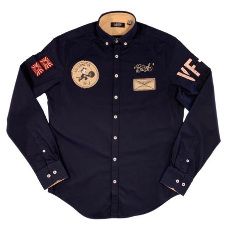 Warson chemise Lexington blue M