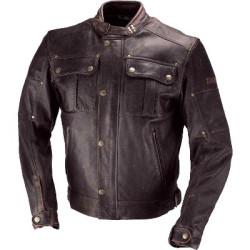 IXS veste cuir Harding brun 56