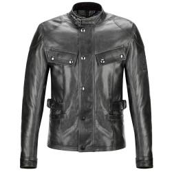 Belstaff veste cuir Crystal Palace noir 2XL