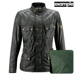 Belstaff veste Crosby British racing vert XL