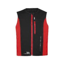 Keis gilet premium V501-kit complet moto noir-rouge M/50