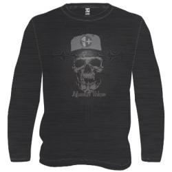 Veleno t-shirt death raser noir/gris L