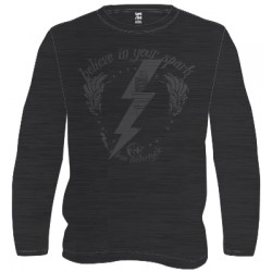 Veleno t-shirt Saint spark noir/gris XL