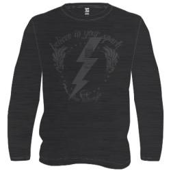 Veleno t-shirt Saint spark noir/gris XXL