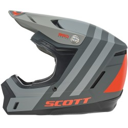 Scott 350 Evo Plus dash noir-orange L