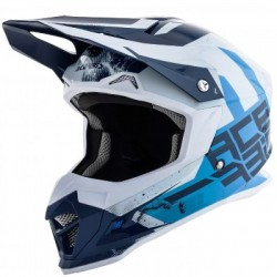 Acerbis casque cross Profile 4.0 bleu-blanc XL