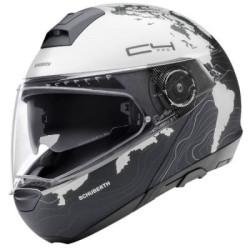 Schuberth C4 Pro Women Magnitudo blanc-noir XS 53