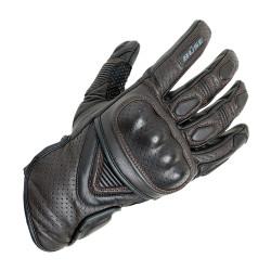 Büse gants Café Racer brun foncé 8