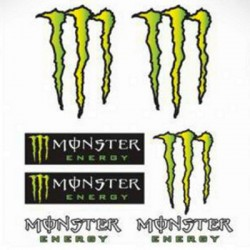 Autocollant Monster Energy MOD7