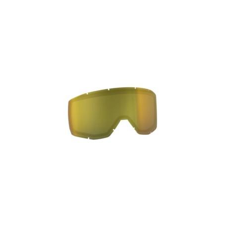 Ecran double Scott Hustle/Tyrant MX SGL jaune