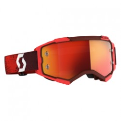 Scott Lunettes Fury rouge/orange chrome