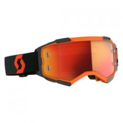 Scott Lunettes Fury orange/noir/ orange chrome