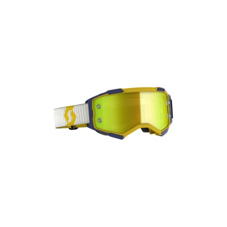 Scott Lunettes Fury yell/blue/yellow chrome