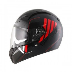 Shark VISION-R 2 CARTNEY noir-rouge XS