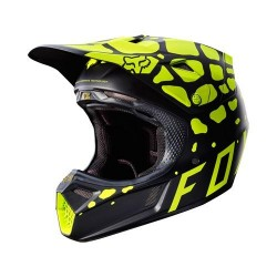 FOX V3 GRAV MIPS noir-jaune S
