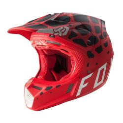 FOX V3 GRAV MIPS rouge-noir S