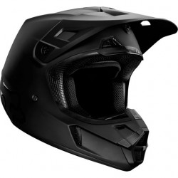 FOX V2 casque cross noir mat S