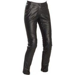Richa pantalon cuir Catwalk dame noir 34
