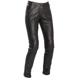 Richa pantalon cuir Catwalk dame noir 38