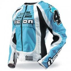 ICON veste TEAM MERC dame bleu XS